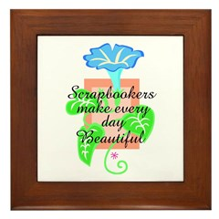 Scrapbookers - Make Days Beau Framed Tile