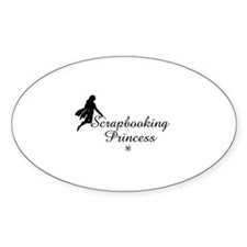 Scrapbooking Princess - Fairy Oval Decal