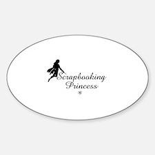 Scrapbooking Princess - Fairy Oval Decal