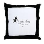 Scrapbooking Princess - Fairy Throw Pillow