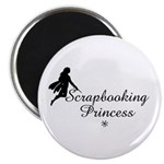 Scrapbooking Princess - Fairy Magnet