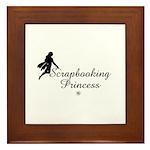 Scrapbooking Princess - Fairy Framed Tile