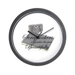Scrapbookers Remember Beautif Wall Clock