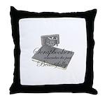 Scrapbookers Remember Beautif Throw Pillow