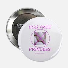 "Egg Free Princess 2.25"" Button"