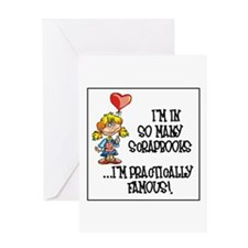 Scrapbooking - Practically Fa Greeting Card