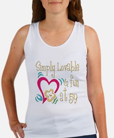 Lovable 59th Women's Tank Top