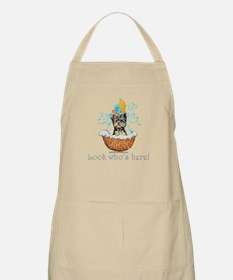 Yorkie Puppy Announcement! BBQ Apron
