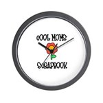 Cool Moms Scrapbook Wall Clock