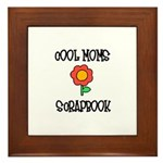 Cool Moms Scrapbook Framed Tile