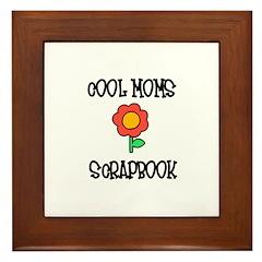 Cool Moms Scrapbook Framed Tile