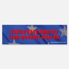 Take back America Love it Bumper Bumper Bumper Sticker