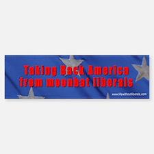 Take back America Love it Bumper Car Car Sticker