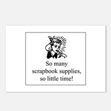 So Many Scrapbook Supplies Postcards (Package of 8