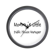 Mommy's Little Public House Manager Wall Clock