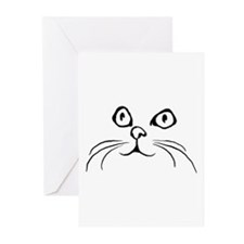 Kitty Face Greeting Cards (Pk of 10)