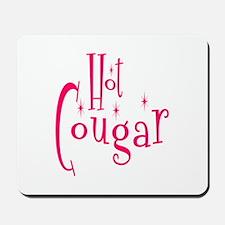 Hot Cougar Mousepad