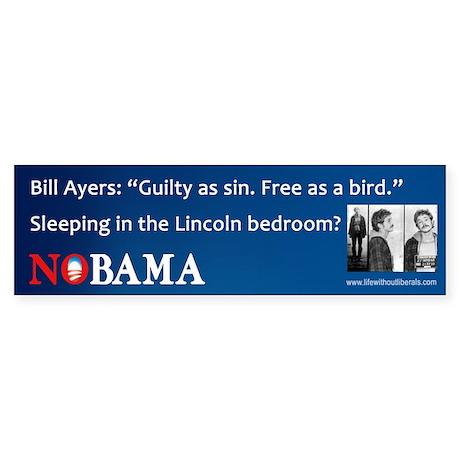 Obama-Bill Ayers Bumper Sticker
