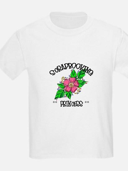 Scrapbooking Princess T-Shirt