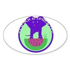 Ellie Oval Sticker (10 pk)