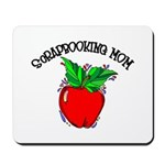Scrapbooking Mom Mousepad