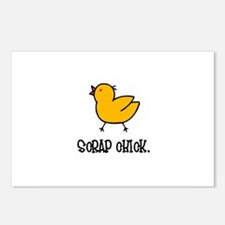 Scrap Chick - Scrapbooking Postcards (Package of 8