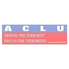 Anti ACLU Bumper Bumper Sticker