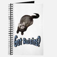 Got Raisins? Blue Journal