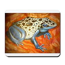 Blue Dart Frog Mousepad