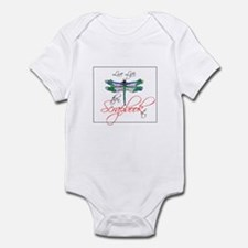 Live Life, Scrapbook It Infant Bodysuit