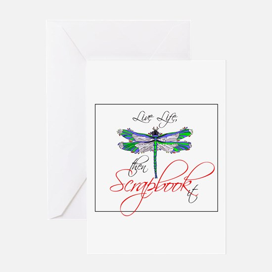 Live Life, Scrapbook It Greeting Card