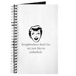 Scrapbookers Embellish Journal