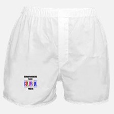 Scrapbookers Have Colorful Pa Boxer Shorts