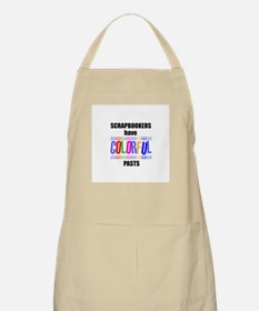 Scrapbookers Have Colorful Pa BBQ Apron