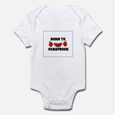 Born To Scrapbook Infant Bodysuit