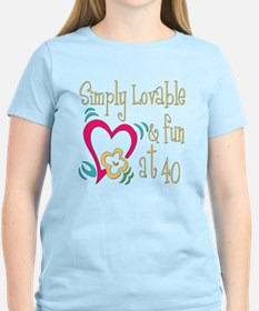 Lovable 40th T-Shirt