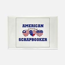 American Scrapbooker Rectangle Magnet