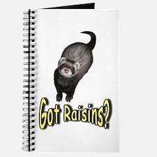 Got Raisins? Yellow Journal