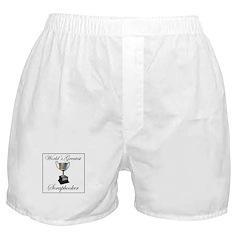 World's Greatest Scrapbooker Boxer Shorts
