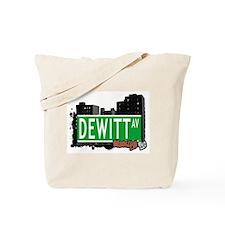 DEWITT AV, BROOKLYN, NYC Tote Bag