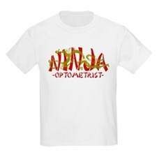 Dragon Ninja Optometrist T-Shirt
