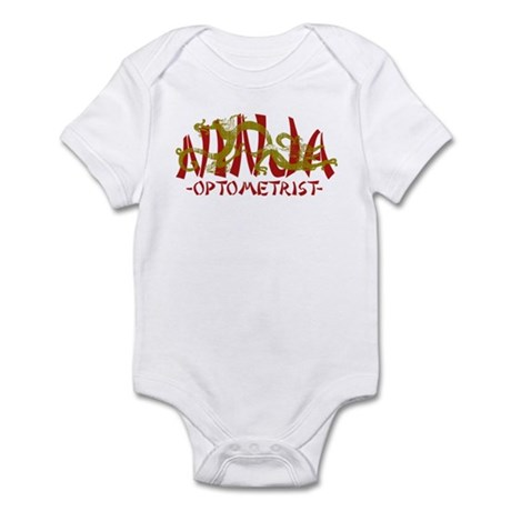 Dragon Ninja Optometrist Infant Bodysuit