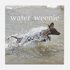 Water Weenie Tile Coaster