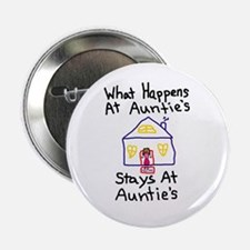 """Auntie's House 2.25"""" Button"""