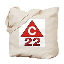Funny C nautical Tote Bag