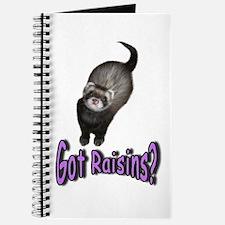 Got Raisins? Purple Journal