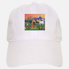 Fantasy Land/Cocker (brn) Baseball Baseball Cap
