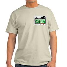 SNYDER AV, BROOKLYN, NYC T-Shirt