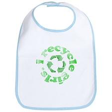 I Recycle Girls Bib