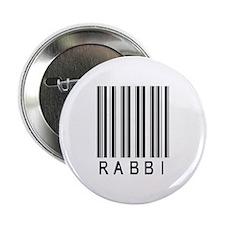 """Rabbi Barcode 2.25"""" Button"""